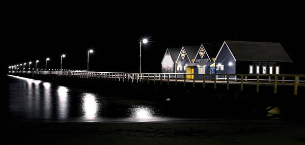 Busselton Poster featuring the photograph Busselton Jetty by Niel Morley