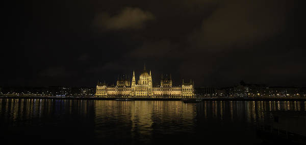 תרגם Poster featuring the photograph Parliament Budapest by Shay Weiss