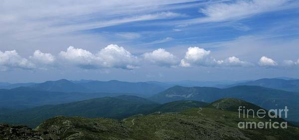 Appalachian Trail Poster featuring the photograph Appalachian Trail - White Mountains New Hampshire Usa by Erin Paul Donovan