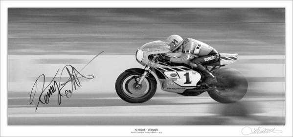 Motorcycle Poster featuring the photograph Road Speed by Lar Matre