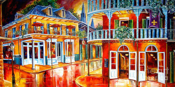 New Orleans Poster featuring the painting Divine New Orleans by Diane Millsap
