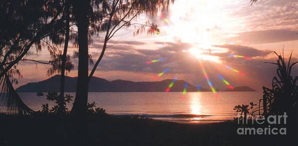 Australia Poster featuring the photograph Dunk Island Australia by Jerome Stumphauzer