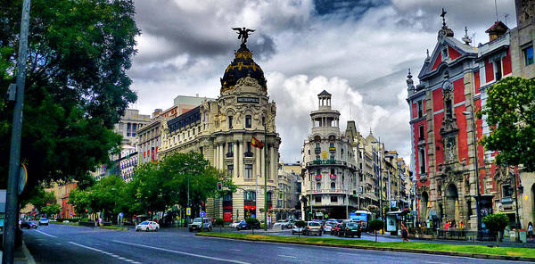 Madrid Poster featuring the photograph Metropolis Madrid by Pedro Fernandez