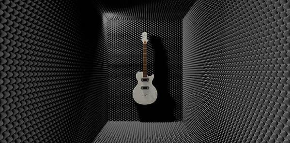 Sound Poster featuring the digital art Sound Discrimination by Allan Swart