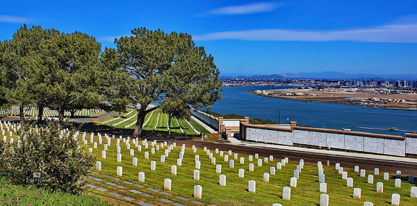 Point Loma Poster featuring the photograph Amoung Heros by Russ Harris