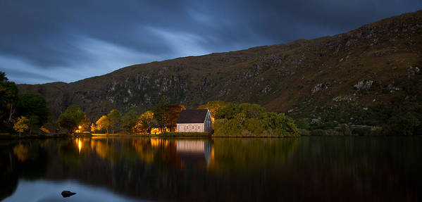 Water Poster featuring the photograph Gougane Barra Ireland by Celine Pollard