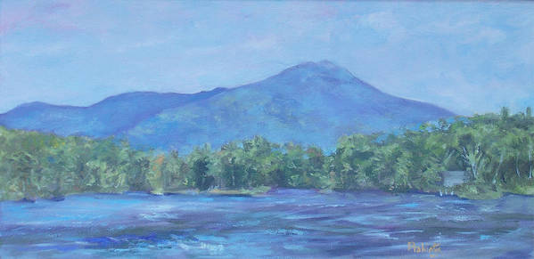 Mt. Monadnock Poster featuring the painting Monadnock Serenity by Alicia Drakiotes
