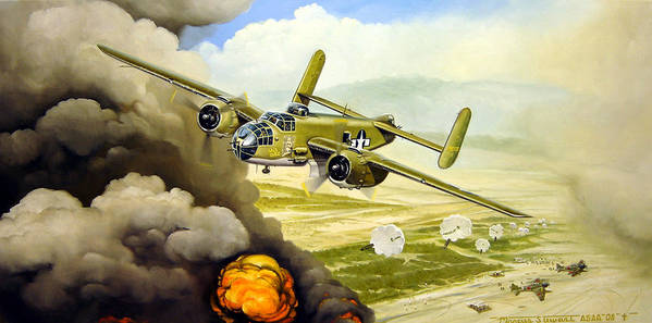 Aviation Poster featuring the painting Wild Cargo by Marc Stewart