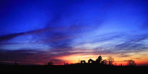 Kentucky Poster featuring the photograph Country Sunset by Wendell Thompson