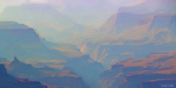 Grand Canyon Poster featuring the photograph Canyon Close Up by Heidi Smith