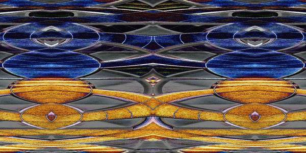 Abstract Poster featuring the digital art The Oricle by Tim Allen