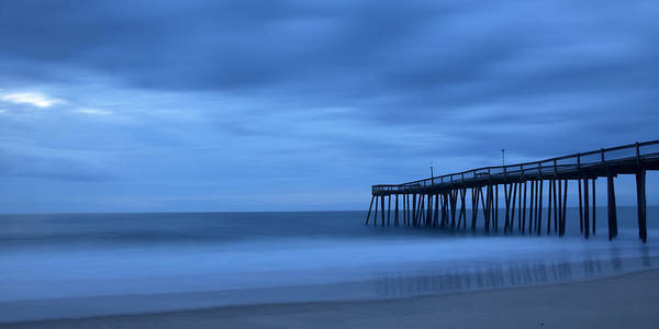 Ocean Poster featuring the photograph Ocean City Pier 2 by Don Keisling