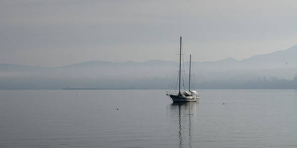 Boat Poster featuring the photograph Waters Of Calmness by Chad Davis