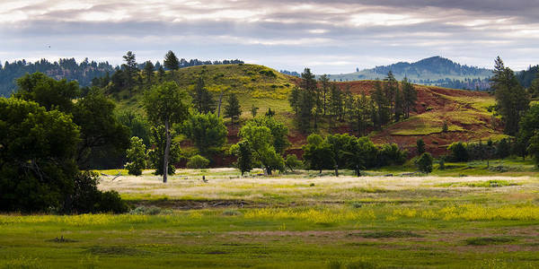 Landscape Poster featuring the photograph Wyoming Valley by Chad Davis