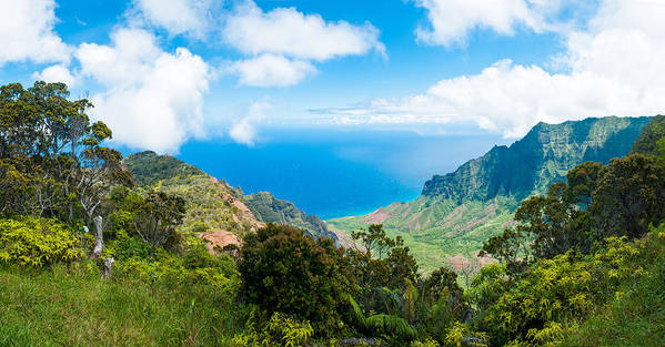 Hawai'i Poster featuring the photograph Kalalau Valley by Adam Pender