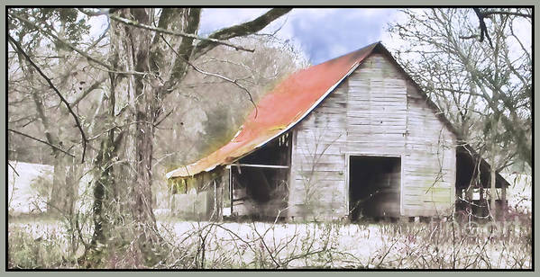 Barn Poster featuring the photograph Timeless by Betty LaRue
