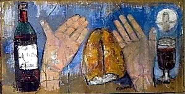 Arte Poster featuring the painting Da Amor Da Vida by Carlos Camus