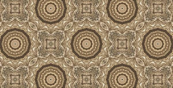 Kaleidoscope Poster featuring the photograph Grass Seed Crocheted Doily by M E Cieplinski