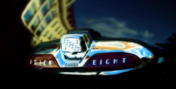 Vintage Cars Poster featuring the photograph The Buick Eight by Steven Digman