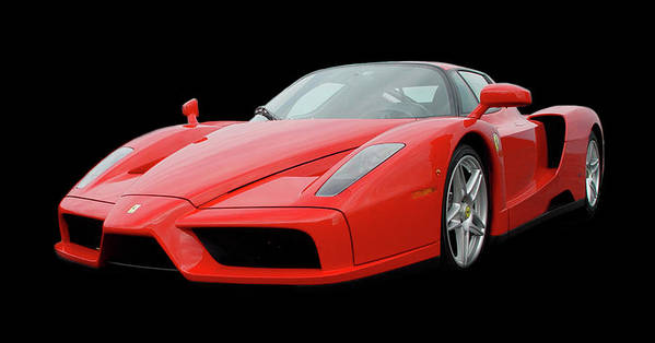 2004 Ferrari Enzo Poster featuring the photograph 2002 Enzo Ferrari 400 by Jack Pumphrey
