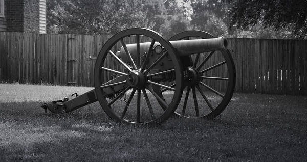 Appomattox Poster featuring the photograph Appomattox Cannon by Teresa Mucha