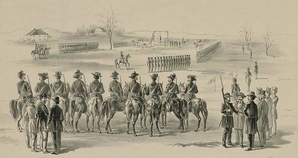 History Poster featuring the photograph Commemorative Print Depicting Execution by Everett