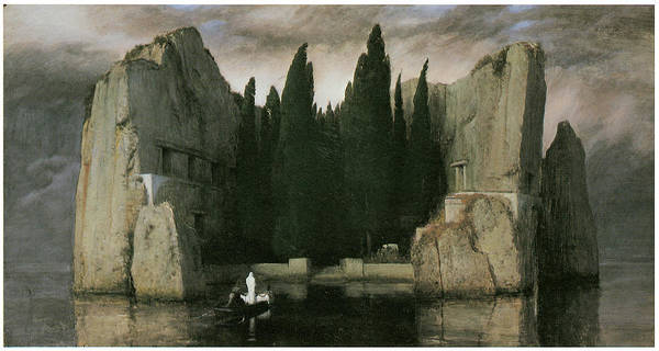 Arnold Bocklin Poster featuring the painting Island Of The Dead by Arnold Bocklin