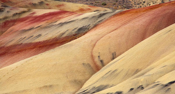 Painted Hills Poster featuring the photograph Nature's Palette by Mike Dawson