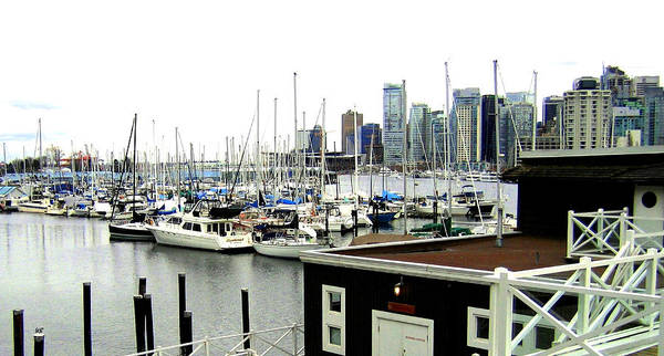 Vancouver Poster featuring the photograph Picturesque Vancouver Harbor by Will Borden
