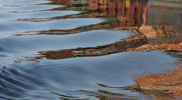 Mississippi River Poster featuring the photograph Mississippi Reflections by Heidi Brandt