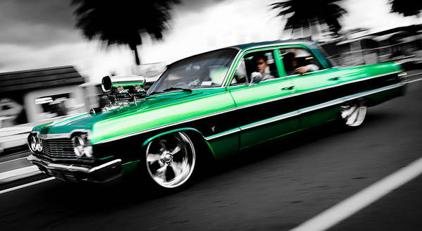 Chevrolet Impala Poster featuring the photograph 1964 Chevrolet Impala by Phil 'motography' Clark