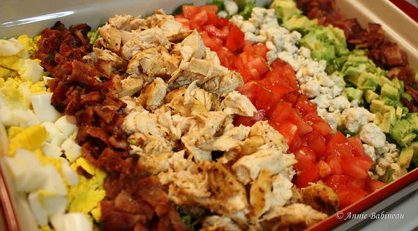 Cobb Poster featuring the photograph Cobb Salad by Anne Babineau