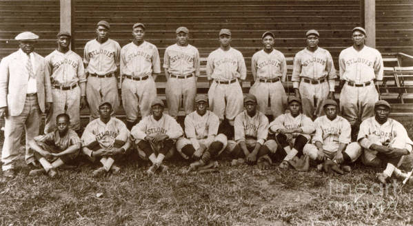1927 Poster featuring the photograph Baseball: Negro Leagues by Granger