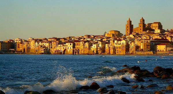 Cefalu Poster featuring the photograph Cefalu - Sicily by Sorin Ghencea