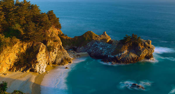 Colen Poster featuring the photograph Mcway Falls by DRK Studios