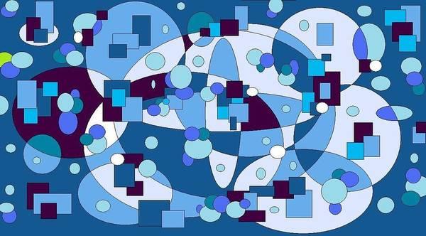 Digital Artwork Poster featuring the digital art Nightall by Jordana Sands