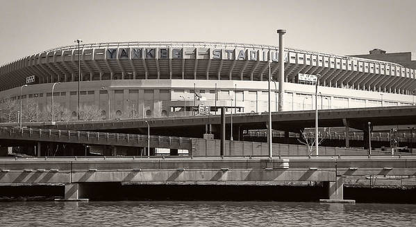 Yankees Poster featuring the photograph Yankee Stadium  1923 - 2008 by Daniel Hagerman