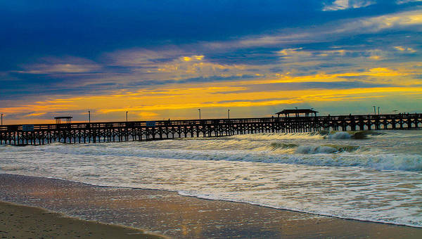 Ocean Poster featuring the photograph Myrtle Beach Morning by Donald Hovis Jr