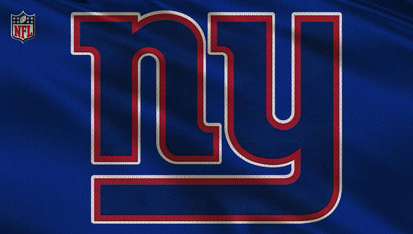 Giants Poster featuring the photograph New York Giants Uniform by Joe Hamilton