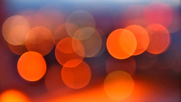Abstract Poster featuring the photograph The Edge Of Night by Rona Black
