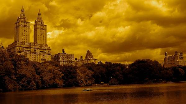 Iphone Cover Cases Poster featuring the photograph Upper West Side And Central Park by Monique Wegmueller