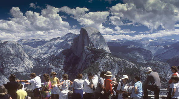 Half Dome Poster featuring the photograph A Day At The Park by Joe Palermo