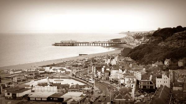 Hastings Poster featuring the photograph Hastings by Sharon Lisa Clarke