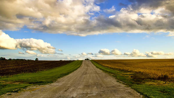 New Melle Poster featuring the photograph Highway D New Melle Mo 3 by Bill Tiepelman