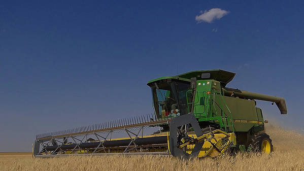 John Deere Poster featuring the photograph Nothing Runs Like A Deere by Blair Wainman