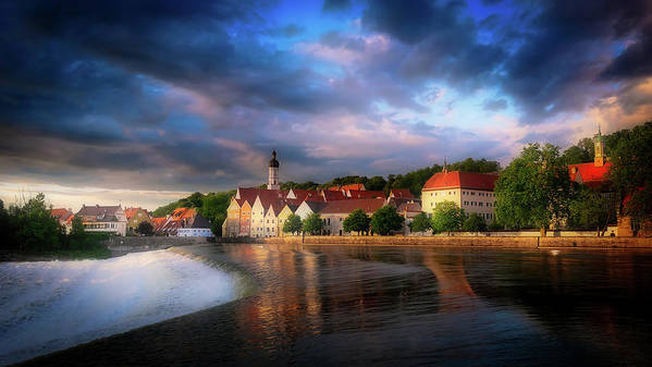Landsberg Poster featuring the photograph Landsberg, Germany by Pixabay