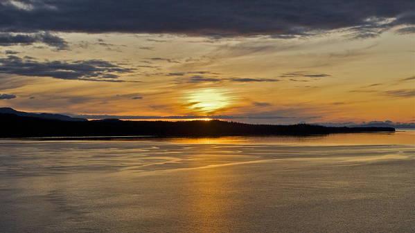 Alaska Poster featuring the photograph Alaskan Sunset by Robert Joseph