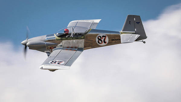 Reno Air Races Poster featuring the photograph Alex Alverez Friday Morning At Reno Air Races 16x9 Aspect by John King