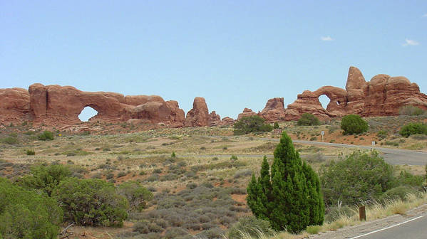 Arches National Park Poster featuring the photograph Arches National Park 21 by Dawn Amber Hood