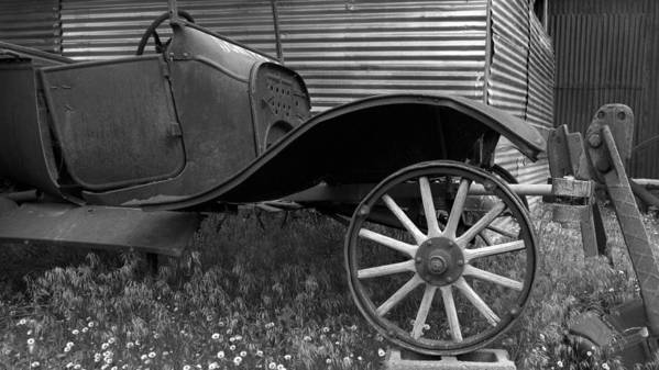 Ford Model T Poster featuring the photograph Ford T by Heniek